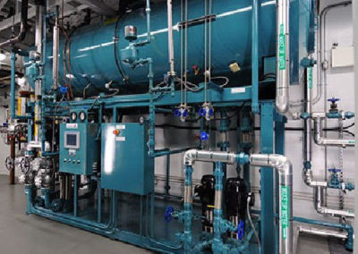 Boiler plant